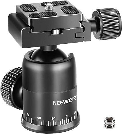 Neewer Kamera Stativ Kugelkopf 360 Grad Drehbar Kamera