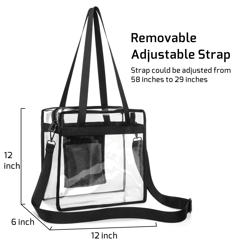 72f687bf13 Amazon.com   Veckle Clear Bag
