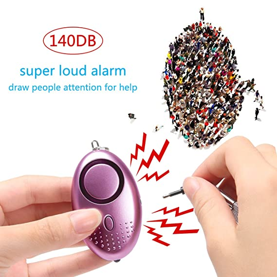 Amazon.com : Taiker Personal Alarm for Women, 5 Pack 140DB ...