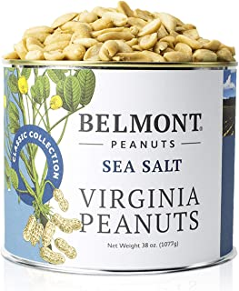 product image for Belmont Peanuts Sea Salt Virginia Peanuts, 38 oz, Classic Collection