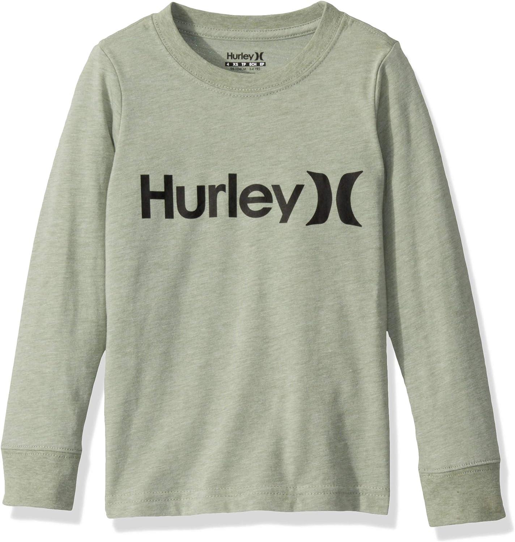 Hurley Boys Long Sleeve Graphic T-Shirt