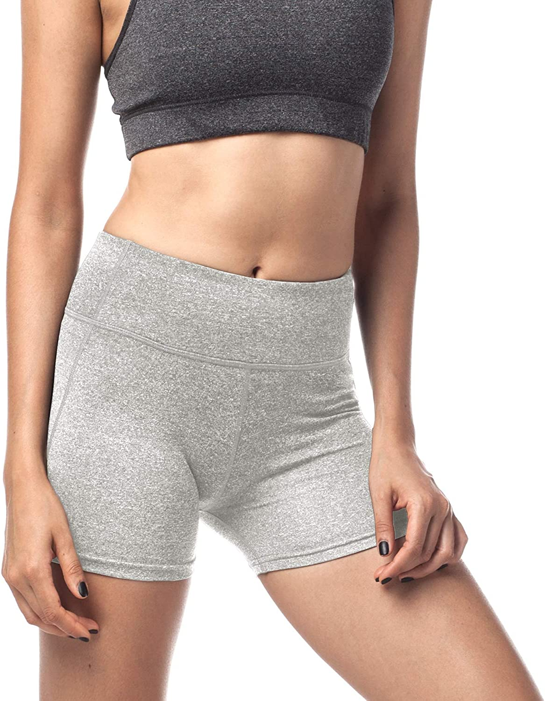 LAPASA Short Sport Femme Yoga Fitness Running Gym /Élastique Stretch Gaine Large L09