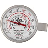 Update International THFR-17L Dial Frothing Thermometer with Chip, 8.25""
