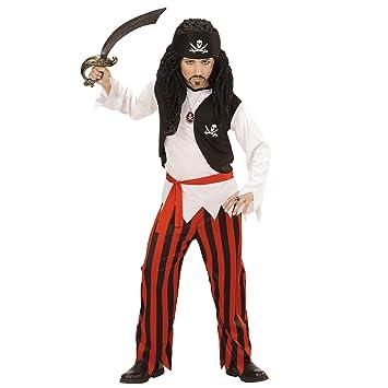 WIDMANN- Disfraz de Pirata para niños, Color Negro, 116 cm (07235 ...