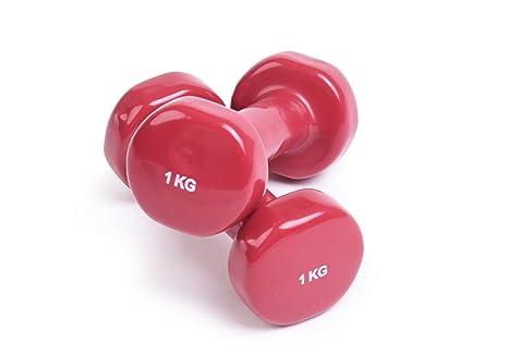 YogaStudio Caja de Caja DE 1,0 kg Mancuernas Set (Dos Pesas en un