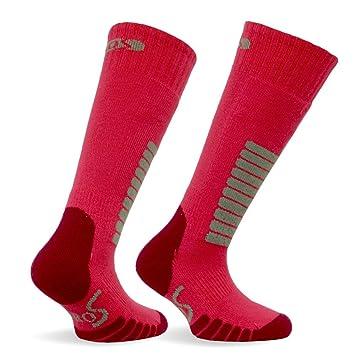 Eurosocks 0412j - Supreme Junior Niños y Niñas OTC - Calcetines de esquí para de esquí 1 par: Amazon.es: Deportes y aire libre