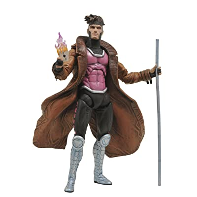 Diamond Select Toys Marvel Select: Gambit Action Figure: Toys & Games