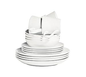 Gordon Ramsay Maze by Royal Doulton 16-pc. Dinnerware Set White