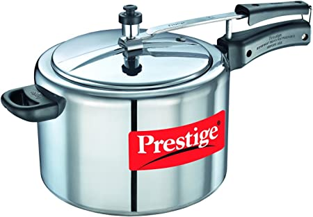 Prestige Nakshatra 11607 Aluminum Pressure Cooker, 10-Liter