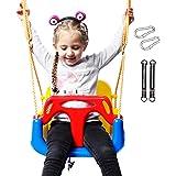 RedSwing 3-in-1 Baby Swing Seat, Toddler Swing, Anti-Flip Snug & Secure Detachable Infants to Teens Kids Swing Seat for…