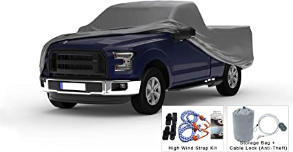 1999 2000 2001 Ford F-250 Crew Cab 8ft Long Bed Breathable Truck Cover