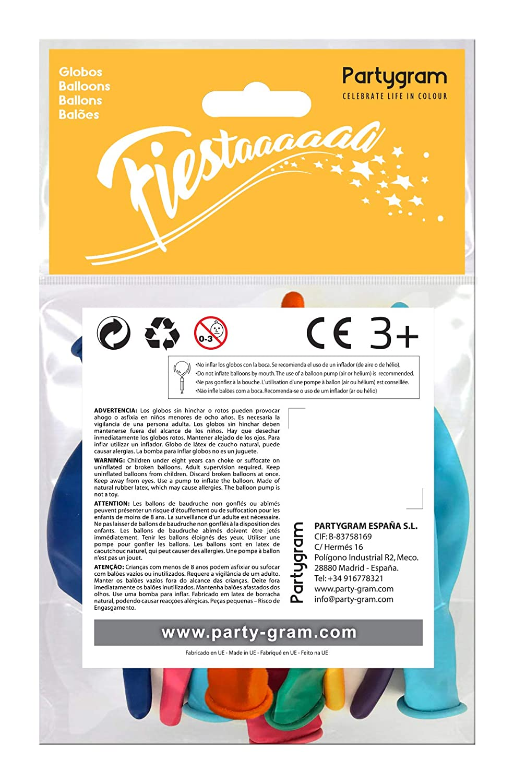 Amazon.com: PARTYGRAM pg2035002 - Globos de eslabón, varios ...