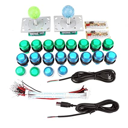 Amazon com: Arcade Controller,USB Game Joystick and Buttons