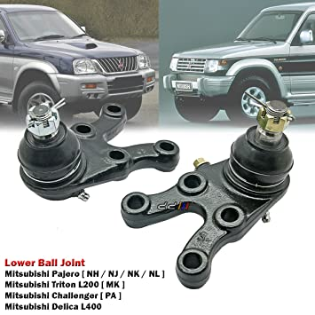 amazon com lower ball joint kit for mitsubishi pajero montero nh nj rh amazon com 2004 Acura TL 2004 Acura TL Interior