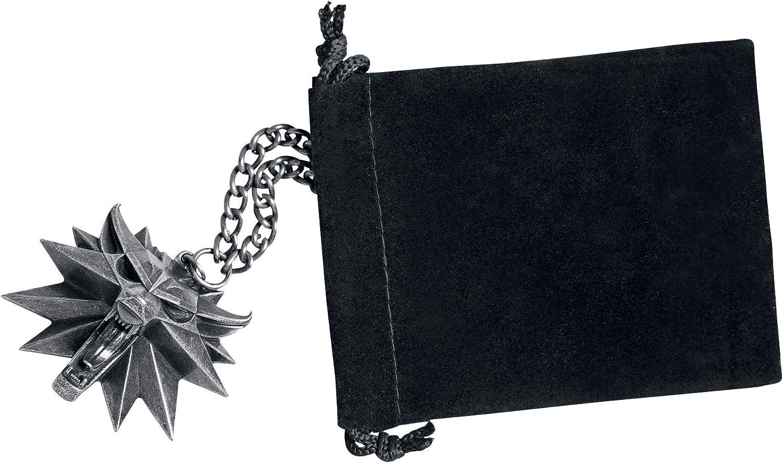 The Witcher 3 Collier avec pendentif M/édaillon du Magicien Chasse Loup Comprend 1 sac et 1 /étiquette