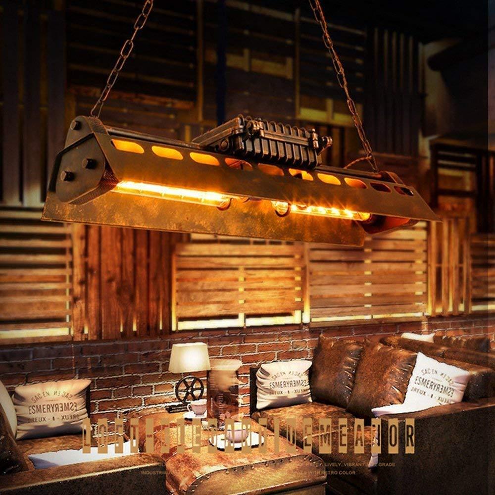 Industrial Pendant Light 4 Light Metal Rustic Chandelier Adjustable Vintage Hanging Ceiling Lighting Fixtures for Home Kitchen Restaurant by KJLARS (Image #3)