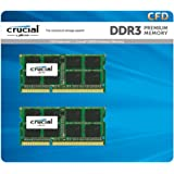 CFD販売 ノートPC用メモリ PC3L-12800(DDR3L-1600) 4GBx2枚 1.35V/1.5V両対応 無期限保証(Crucial by Micron) W3N1600CM-4G