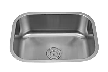 silver line stainless steel sink 862 amazon in home kitchen