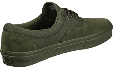 66863ea6fd Image Unavailable. Image not available for. Color  Vans Unisex Era  Skateboard Shoes (Military Mono Winter Moss ...