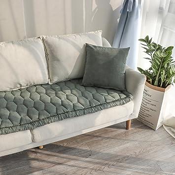 Lililili Plusch Tapisserie Volltonfarbe Sofa Decken Sofa Decke Erker