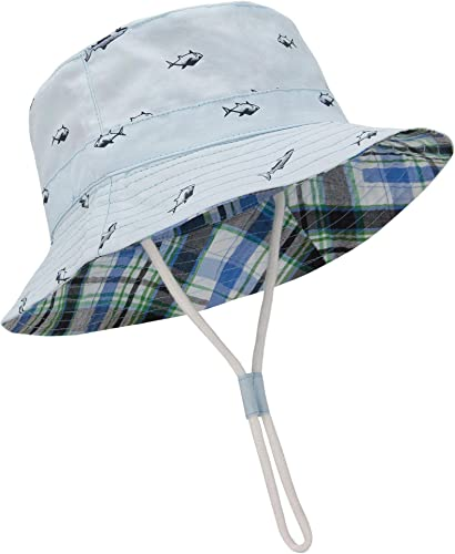 Durio Baby Sun Hat Summer Beach UPF 50+ Sun Protection Baby Boy Hats Toddler Sun Hats Cap for Baby Girl Kid Bucket Hat