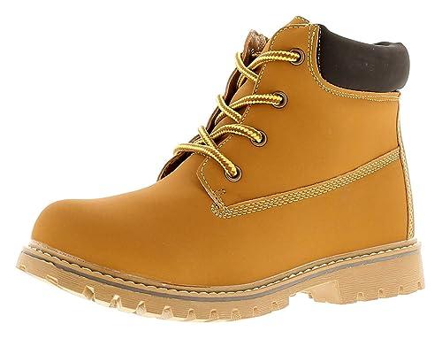 Rockstorm Simon para Niños Botas Color Miel - Miel - GB Tallas 1-13 - Miel, 32.5 EU: Amazon.es: Zapatos y complementos