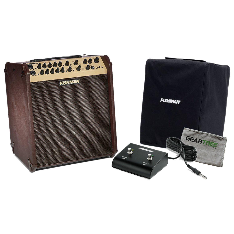 Fishman PRO-LBX-700 Loudbox Performer Acoustic Guitar Amp w/ Geartree Cloth, Foo by Fishman