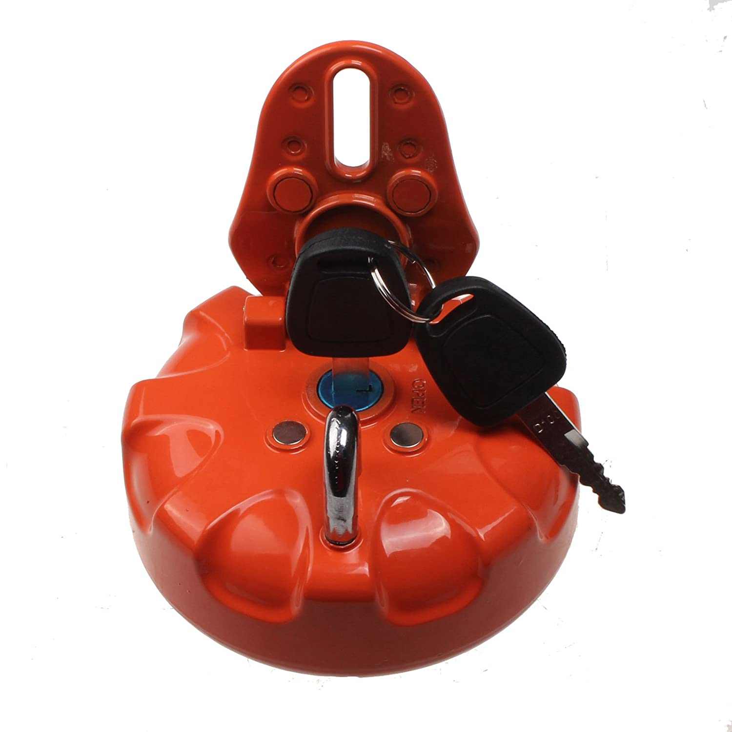 Friday Part Fuel Tank Cap With 2 Keys for Daewoo Doosan Excavator DH215-7 DH225-9 DH300