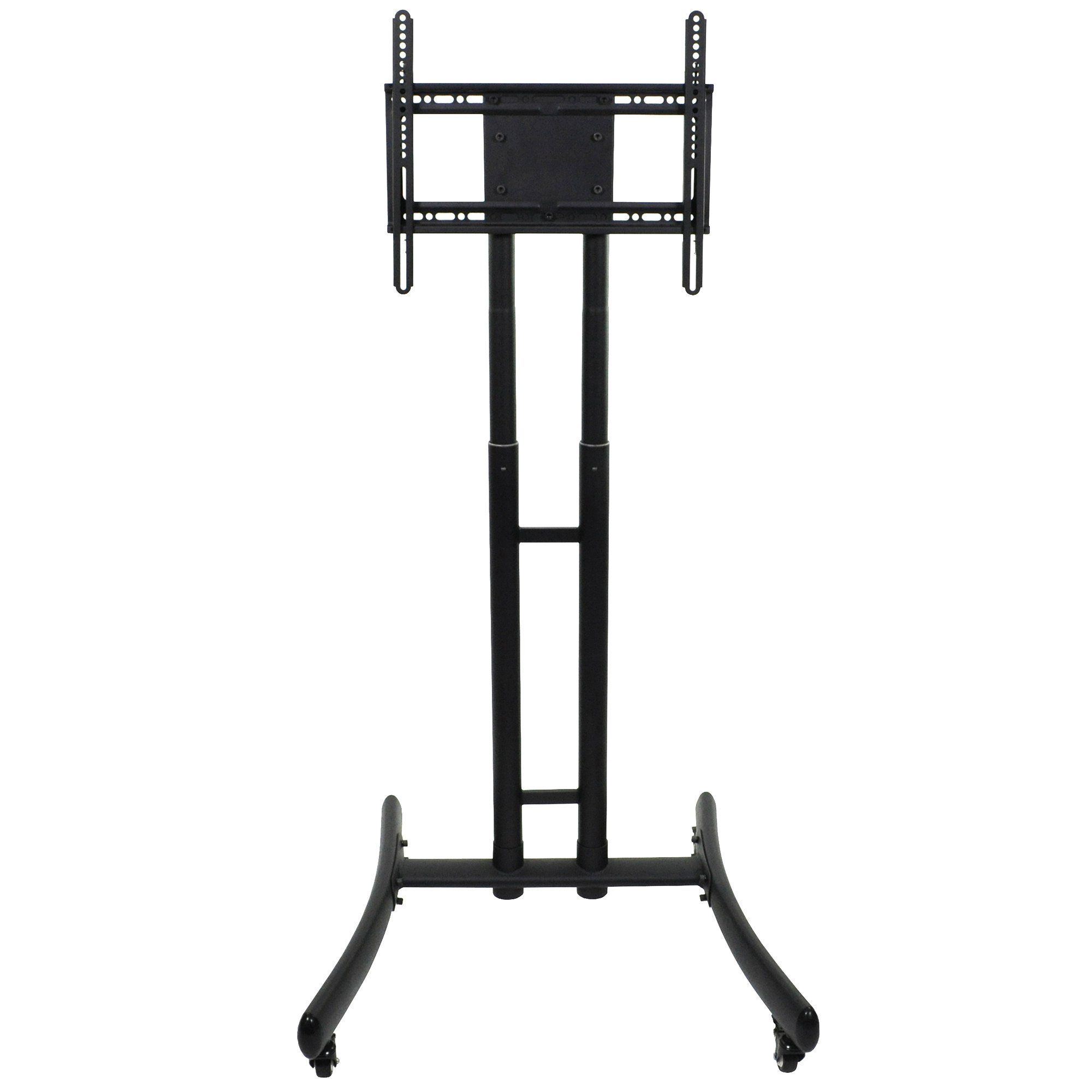 Luxor / H. Wilson FP1000 Adjustable Height TV Cart for 32'' to 70'' Screens