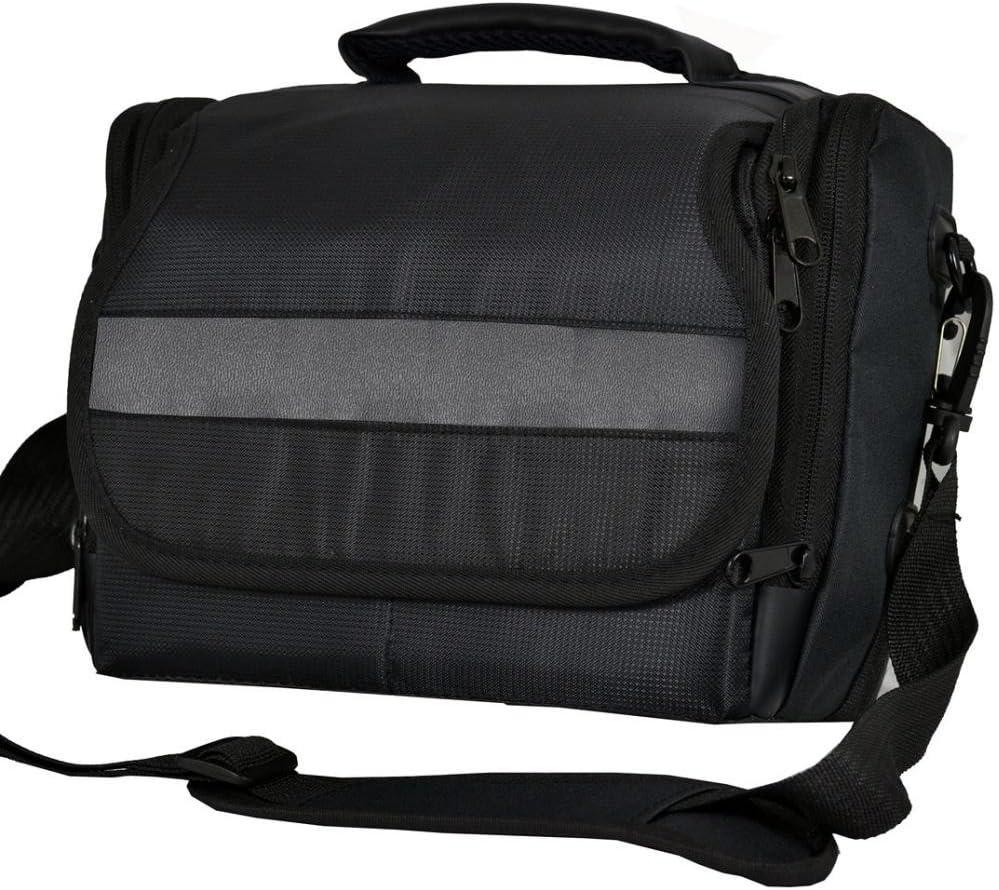 Cámara réflex digital bolsa bandolera de lona para Nikon D5300 ...