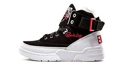 11bbabb1d06f Ewing Athletics Ewing 33 HI Black Red White Basketball Schuhe Shoes Mens
