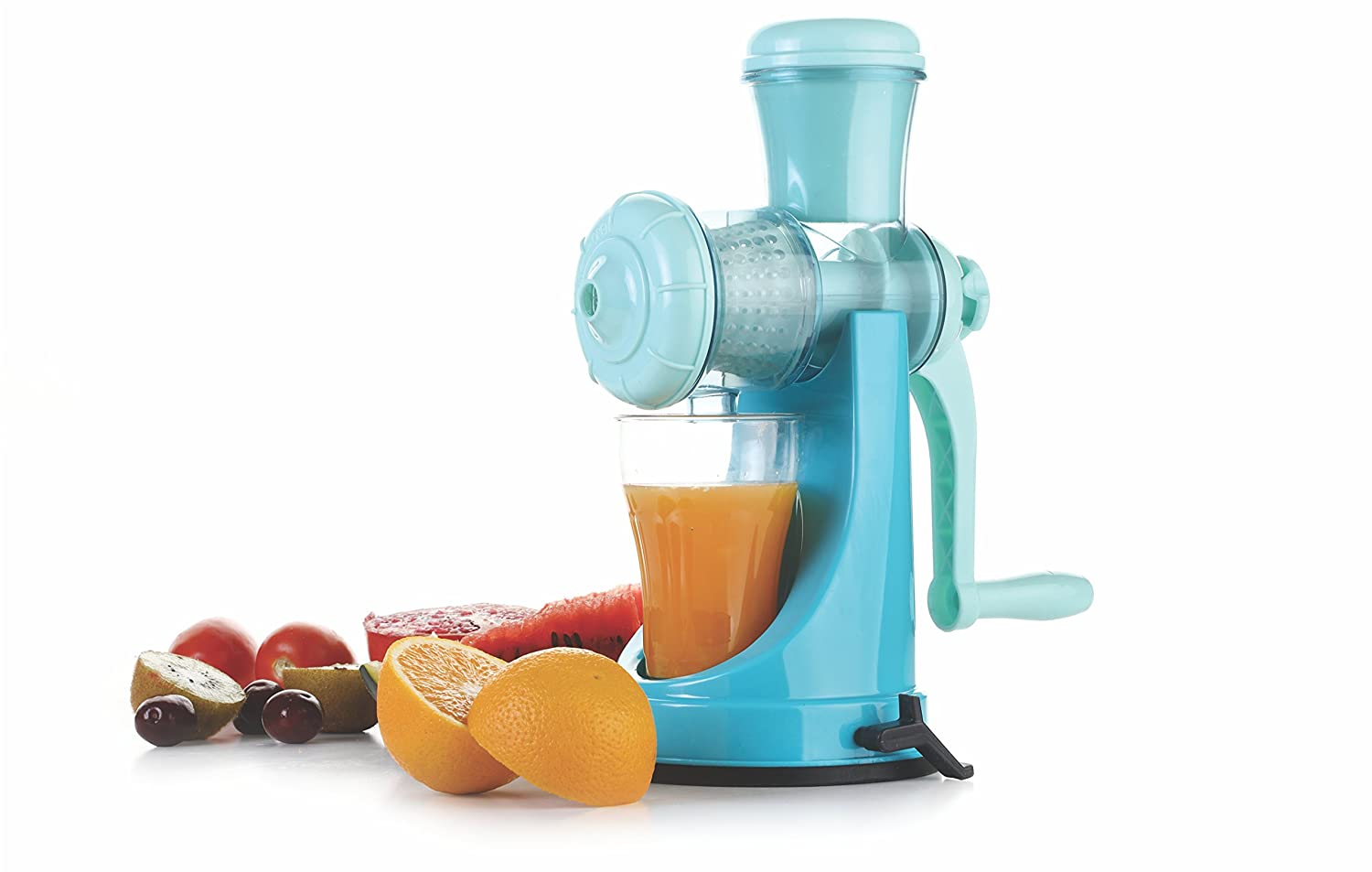 Manual juicer. Useful device for home 99