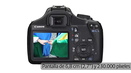 Canon EOS 1100D - Cámara Réflex Digital: Amazon.es: Electrónica