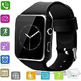 Amazon.com: Smart Watch Bluetooth Wrist Watch Pedometer ...