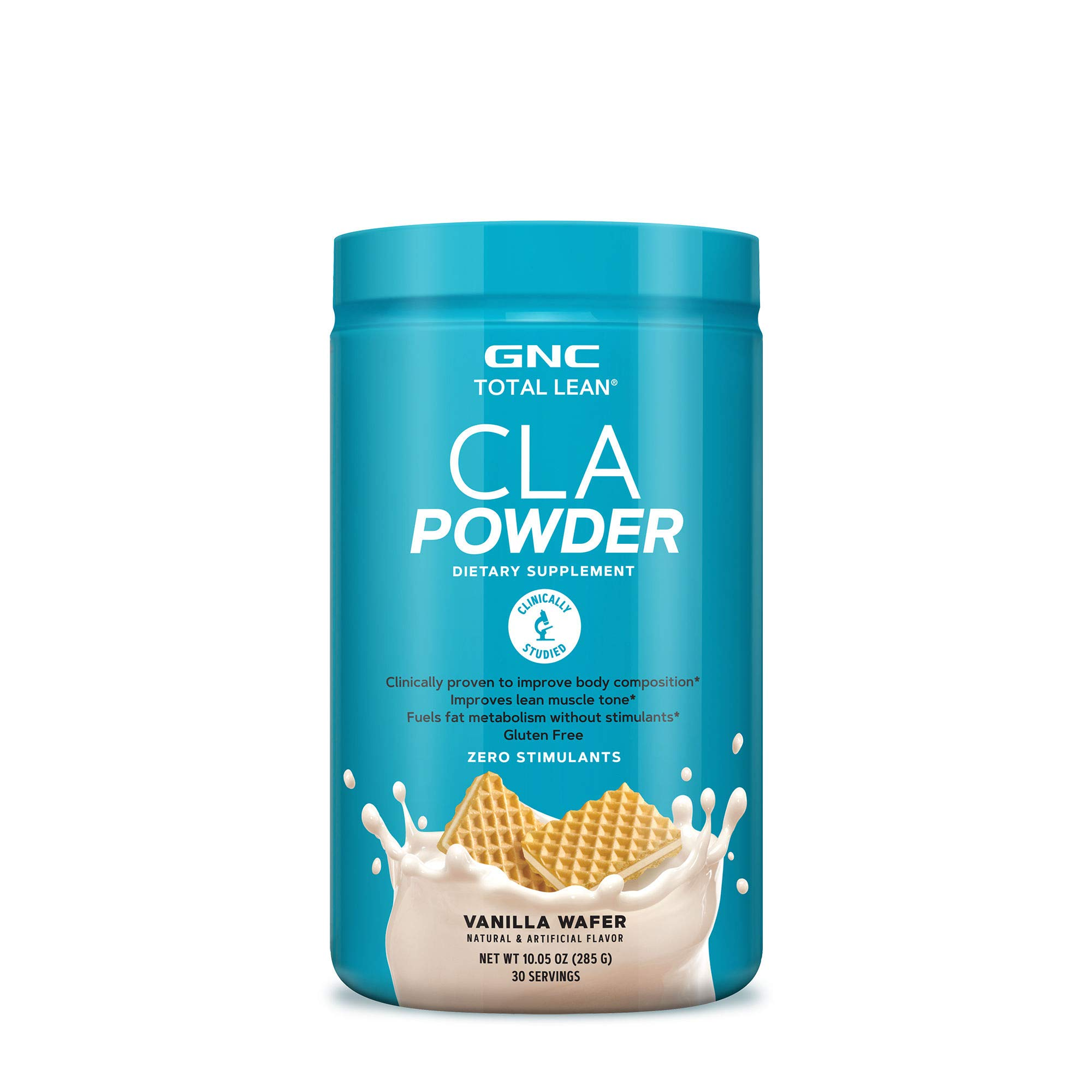 GNC Total Lean CLA Powder - Vanilla Wafer