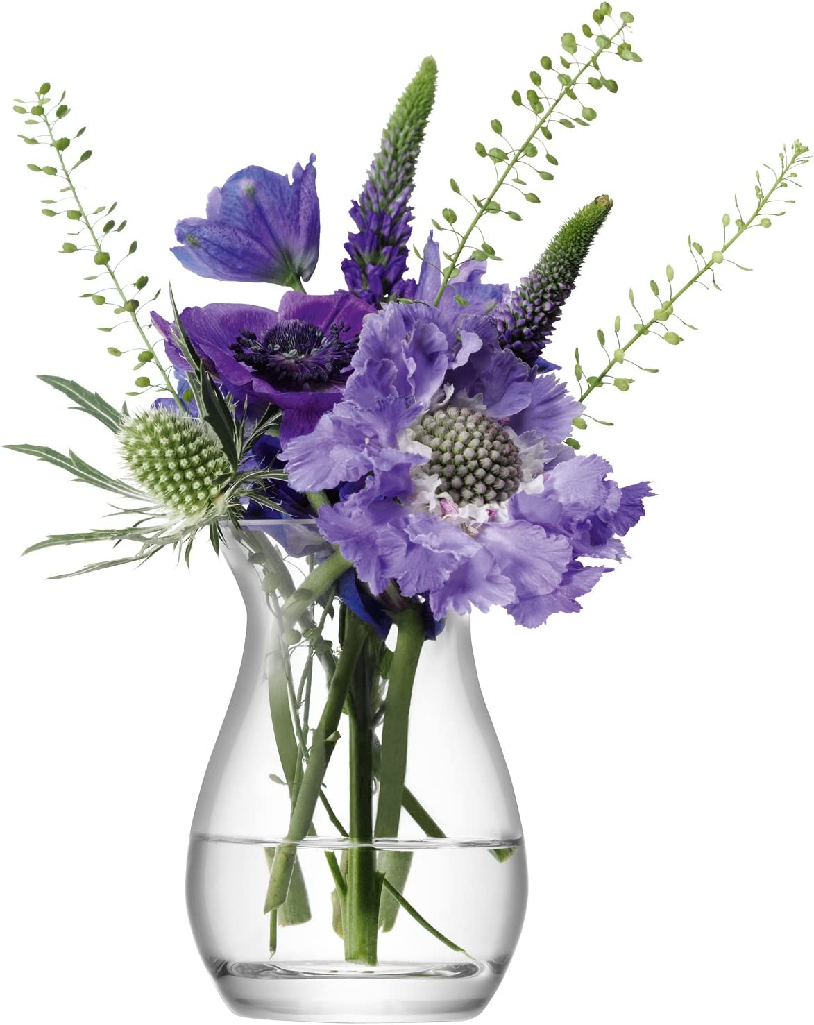 Vase /à Fleurs Transparent LSA International 26/cm