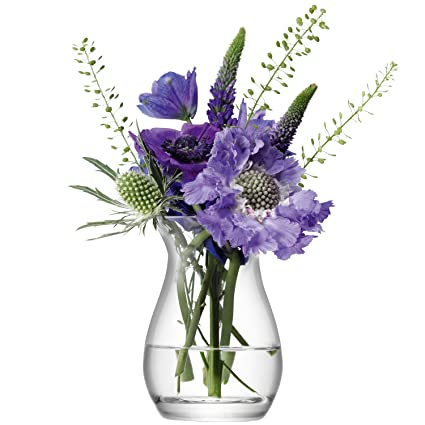 Amazon Lsa International Flower Mini Posy Vase H375 Clear