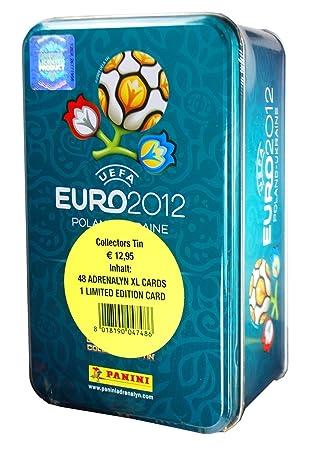 Panini 04748 Adrenalyn XL-Euro 2012 - Caja de Cartas ...