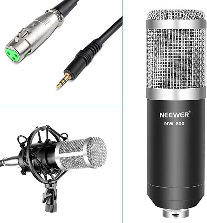 Amazon.com: Neewer Pro - Kit de micrófono condensador para ...