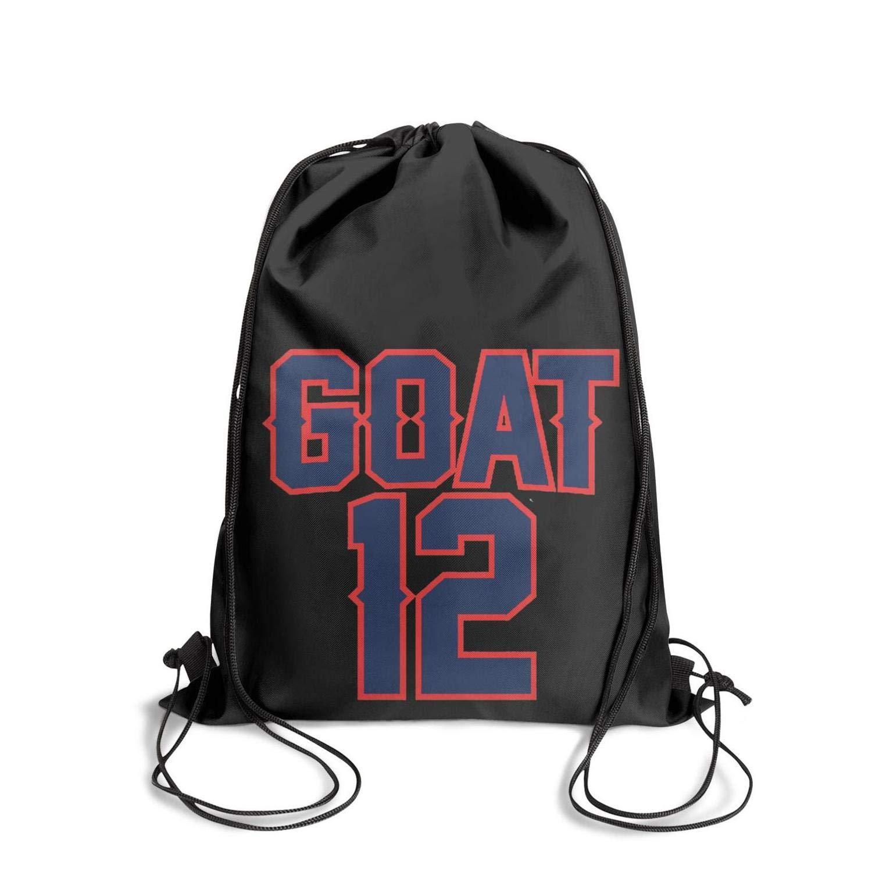 Drawstring Bags for Women /& Men GUYI3 Handbags Spacious Vintage MVP-Tom-GOAT-12-football
