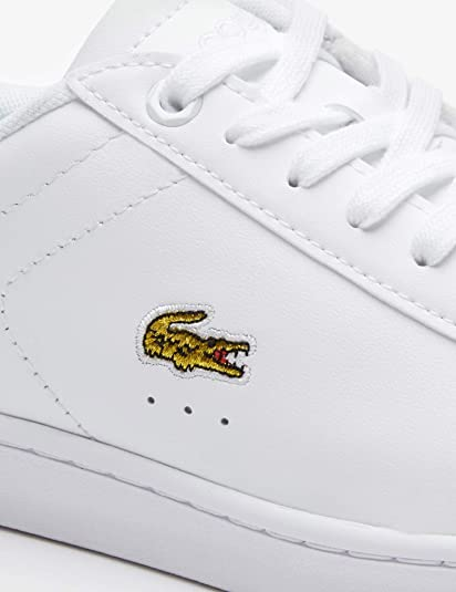 White 1 Blanches Pour LacosteCarnaby Evo 37sfa0018Baskets 219 jqzpMVLSUG
