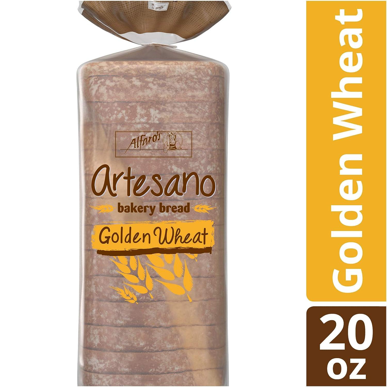 Alfaros Artesano Golden Wheat Bread, 20 oz: Amazon.com ...