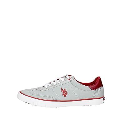 U.S. Polo Assn. MARCS4137S7/C1 Sneakers Hombre Grey 41: Amazon.es ...