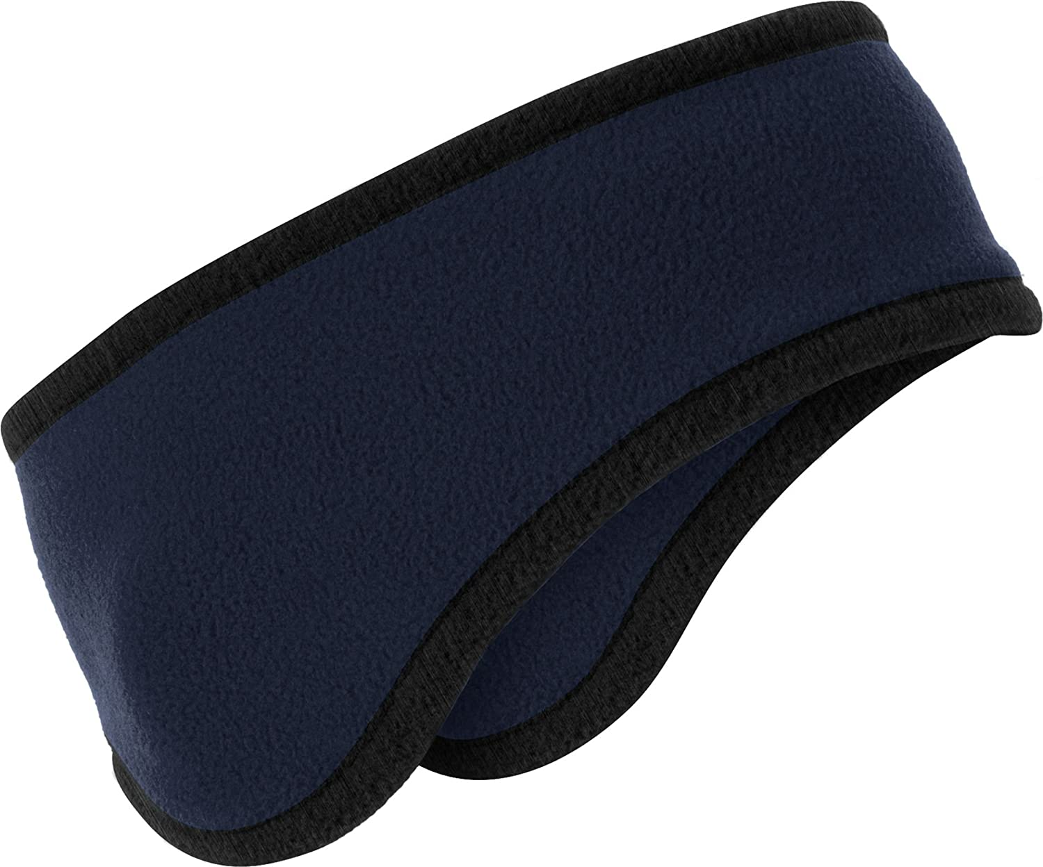 Port Authority Men's TwoColor Fleece Headband - Navy C916 OSFA 685993