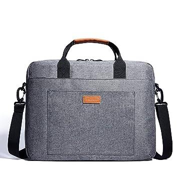 1b08e2be2f TZZ Laptop Bag 15.6 Pouces Ordinateur Portable épaule Messenger Bag Housse  Etanche Antichoc pour Le Nouveau
