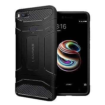 Kapaver Xiaomi Mi A1 Cubierta de la Parte Trasera de la Caja Premium Resistente Robusta Sólida