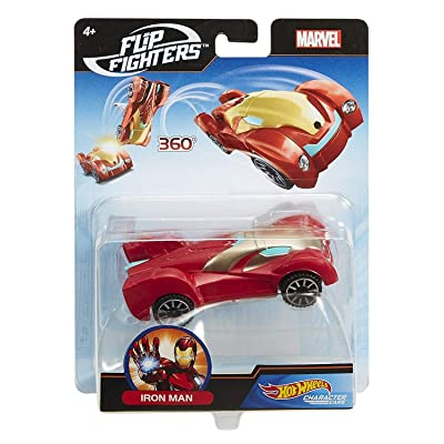 Hot Wheels Marvel Fighter Vehicles, Styles May Vary: Toys & Games