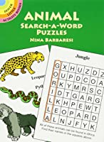 Animal Search-a-Word Puzzles (Dover Little