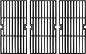 Rejekar Cast Iron Grill Grates Replacement for DynaGlo DGF510SBP, DGF510SSP, Uniflame GBC1059WB, 16 1/4'' Cooking Grid for Backyard Grill BY13-101-001-13 and Better Homes & Gardens