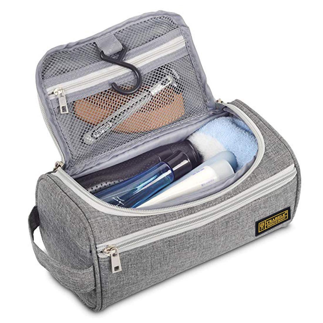 ZONBAR Kulturtasche Damen Kulturtasche Herren mit Kompaktes Design Wasserdicht